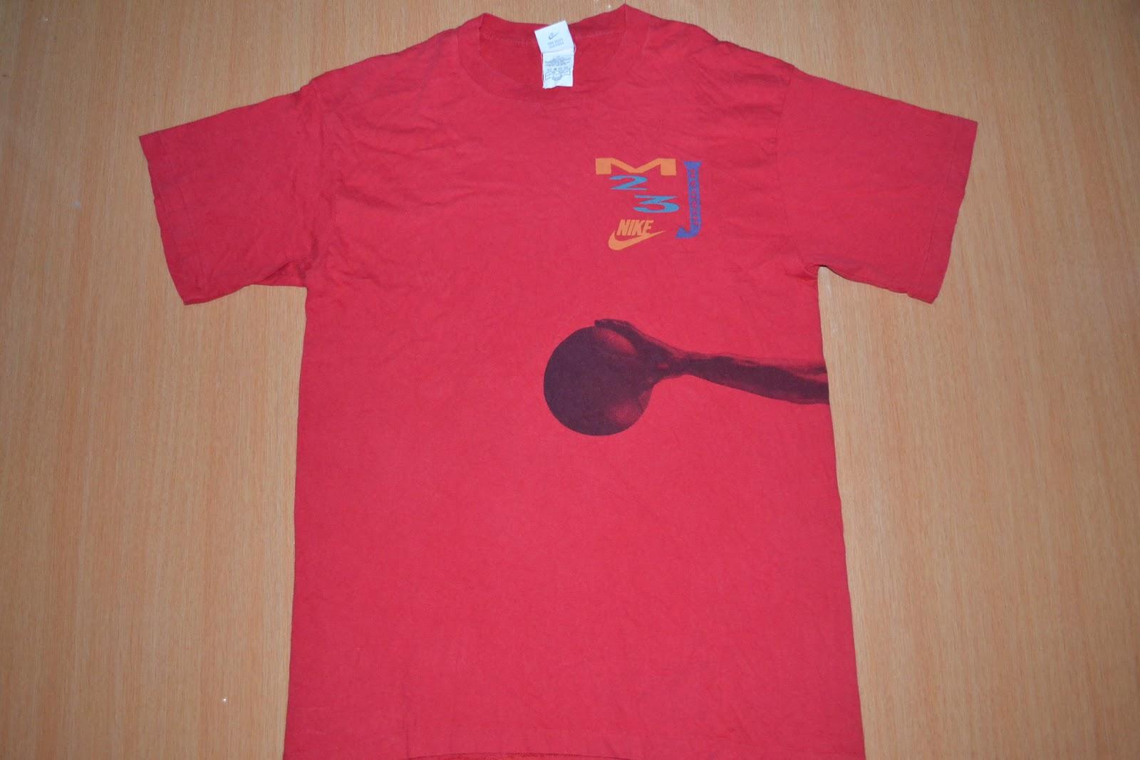 0b69a7e3761 OldSchoolZone: Vintage 90s NIKE Michael Jordan T-shirt (SOLD)