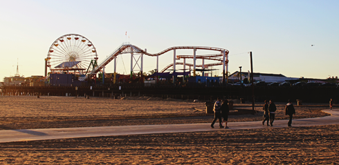 santa monica pier los angeles attractions