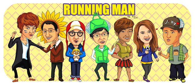 runningman cartoon