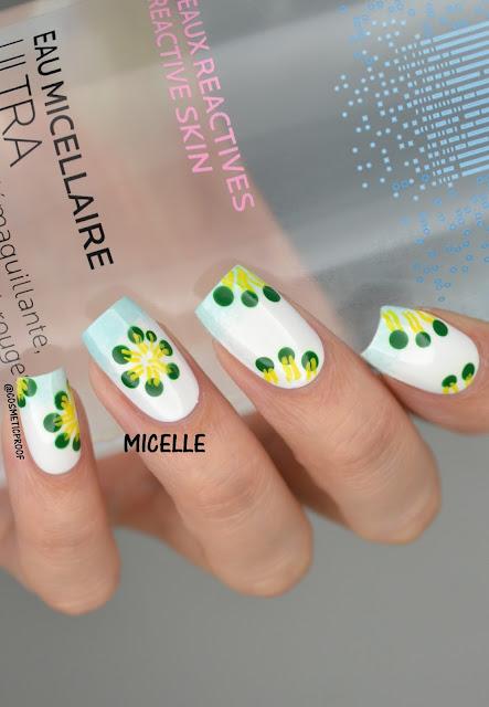 Micelle Micellar Water Nail Art