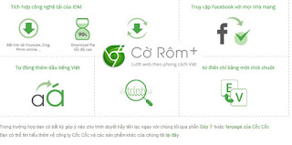 Crom+, Tải trình duyệt Cờ Rôm Cộng về máy tính miễn phí 4