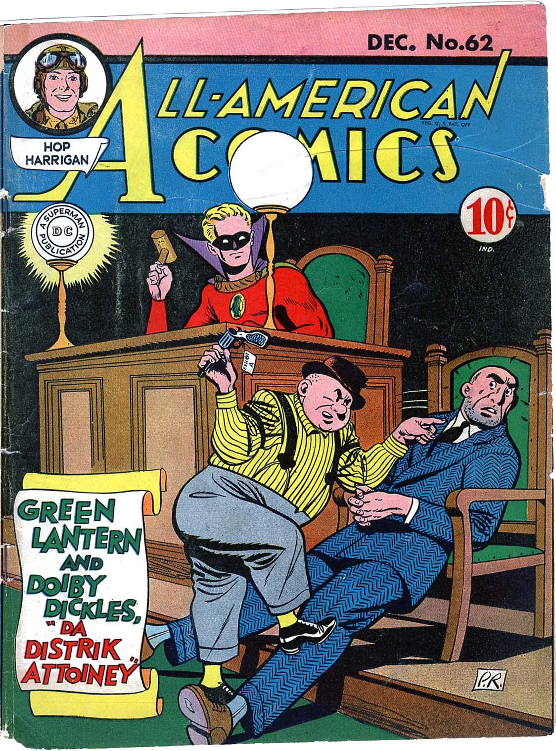 Read online All-American Comics (1939) comic -  Issue #62 - 1