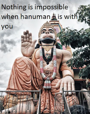 Good morning god images with quotes - hanuman bajrangbali