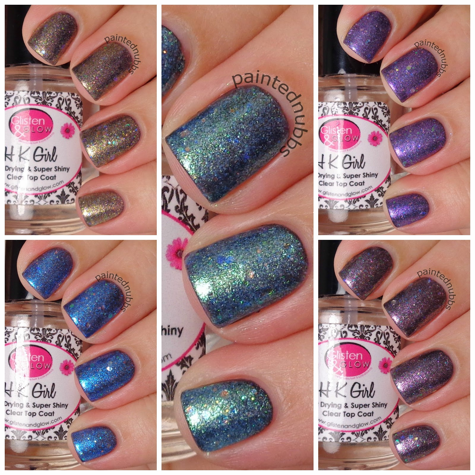 Painted Nubbs: Spellbound Nails Winter Is Coming 2014 Collection