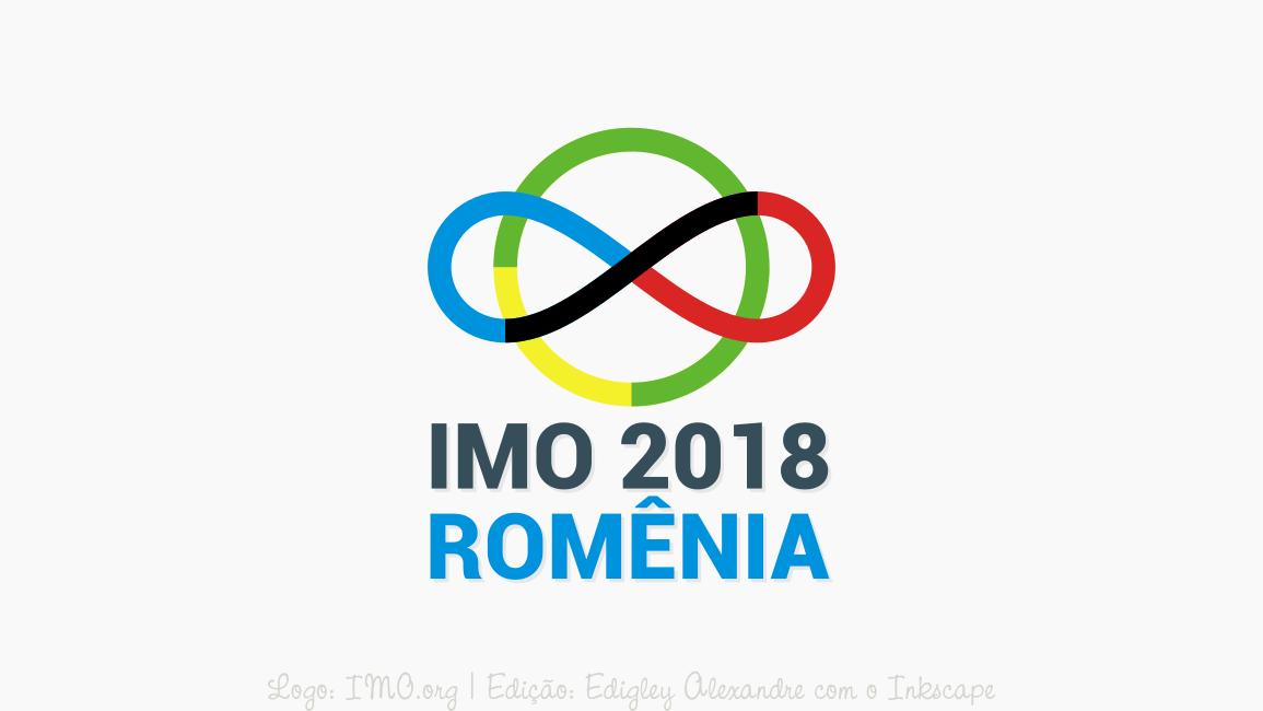 Brasil ganha medalha de ouro na IMO 2018 na Romênia