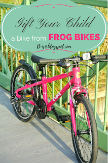 Gift Frog Bikes To Your Child