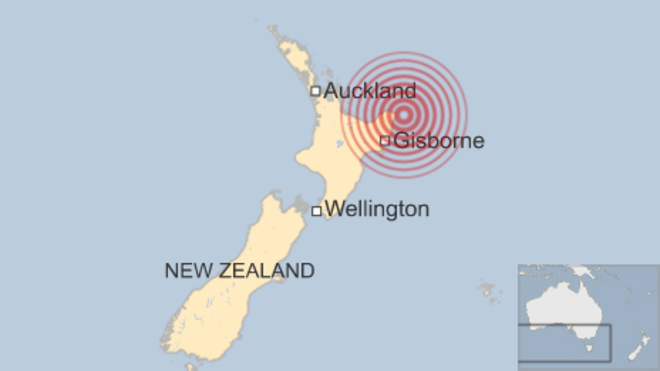 Powerful quake off north-east New Zealand coast