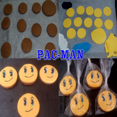 Tutorial Galletas pacman de chocolate