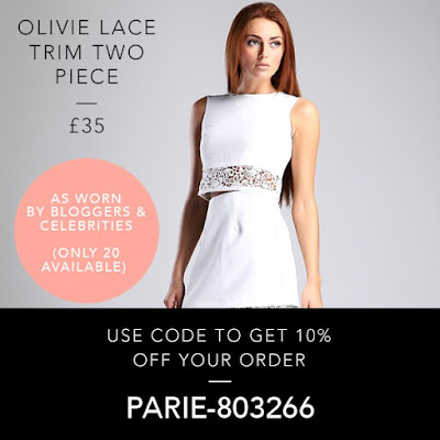 Luxemme Olivie Lace Trim Two Piece