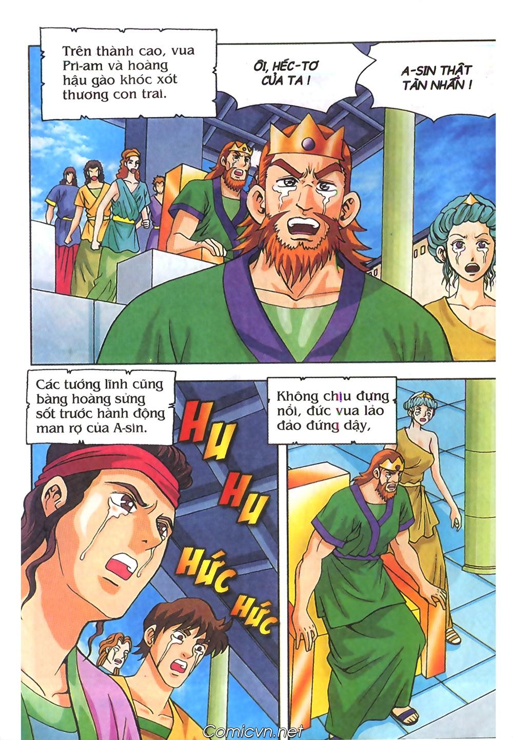 Thần Thoại Hy Lạp Màu - Chapter 62: Hector tử trận - Pic 12