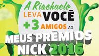 Riachuelo te leva pro Meus Prêmios Nick 2016