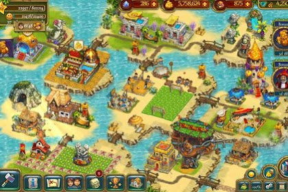 The Tribez: Build a Village v9.0.0 Mod Apk (Unlimited Money) Terbaru