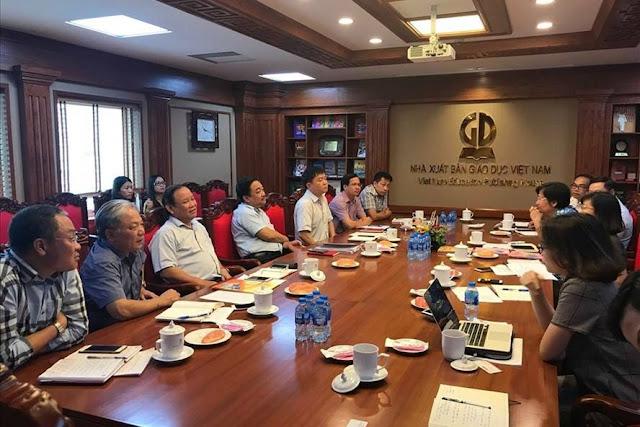 Ban lãnh đạo NXB Giáo dục Việt Nam