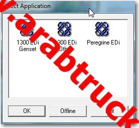 Arabtruck: Perkins EDI 1300 Diagnostic Software