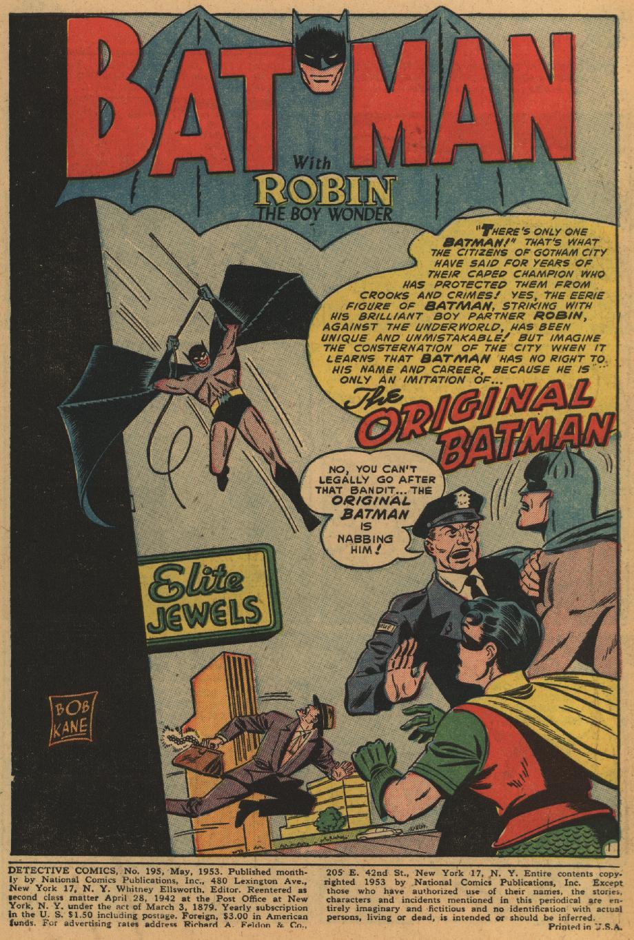 Detective Comics (1937) 195 Page 2