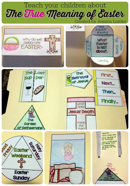 As a Christian teacher, it is my deep desire to see my students grow in their faith and their relationship with God. This fun and interactive set of foldables is a great reminder and discussion-starter for the true meaning of Easter and why we celebrate more than Easter bunnies and egg hunts.