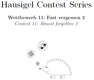 Almost forgotten 2 (Hausigel Contest Series Contest 11)