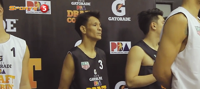 Meet Charley 'Kobe' Caluya, the 43 year Old Rookie Aspirant! (VIDEO) PBA Rookie Draft 2016