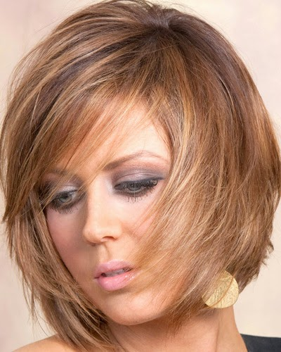Blonde Hairstyle With Caramel balayage highlights