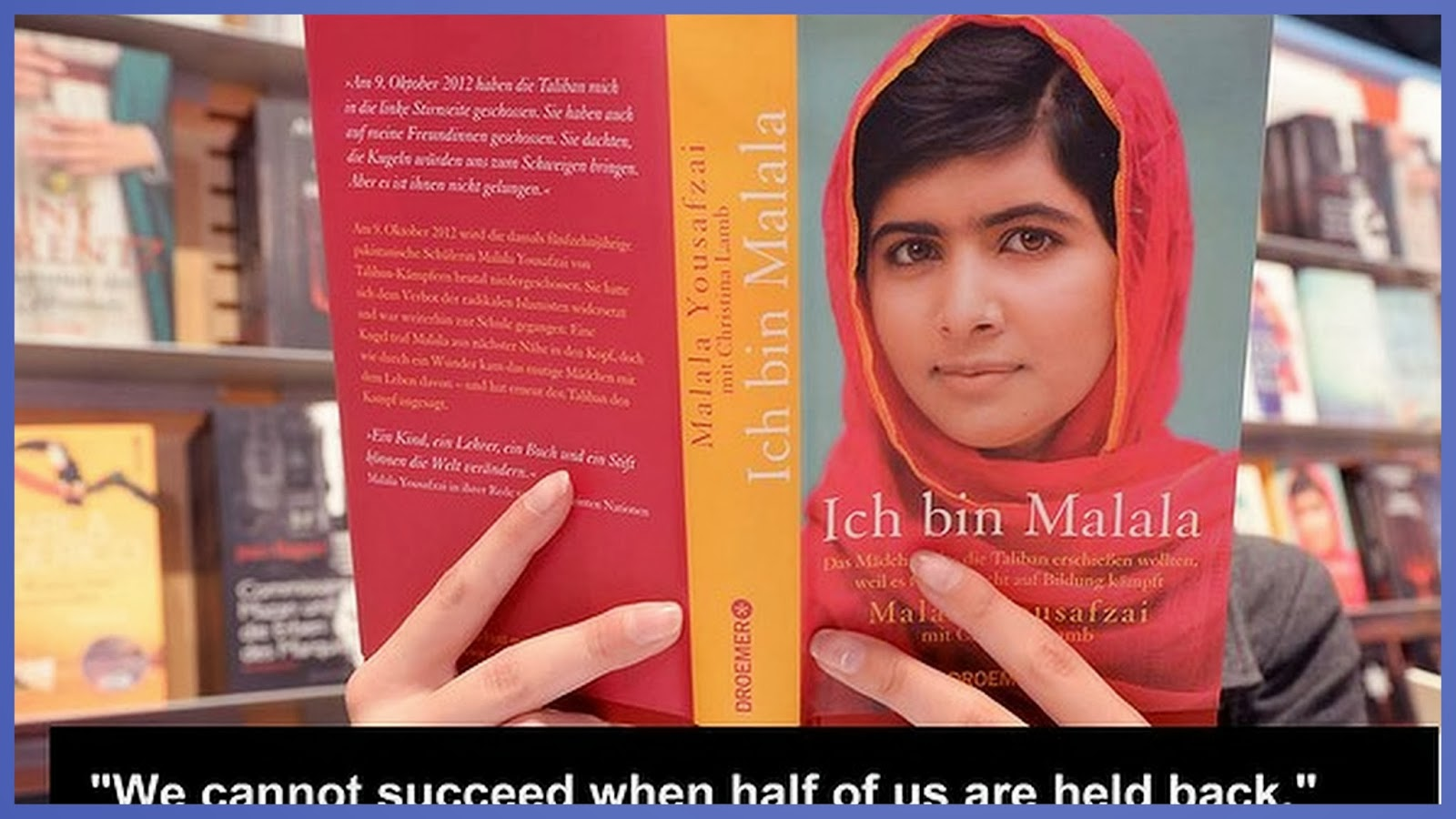 Re -Train Your Brain To Happiness: Malala Yousafzai Quotes ...