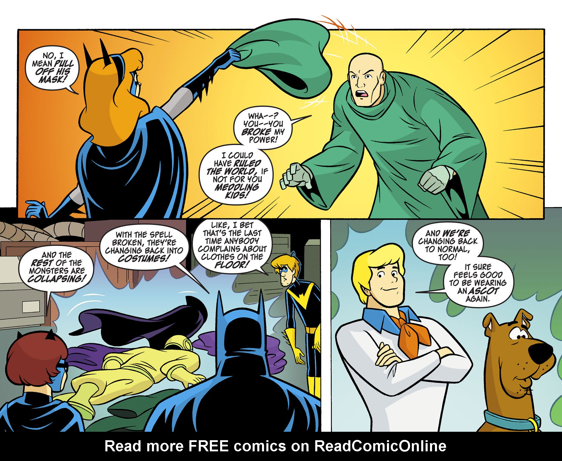 Read online Scooby-Doo! Team-Up comic -  Issue #5 - 21