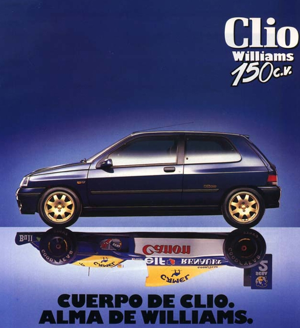 Renault Clio Williams: Tamerlane's Thoughts: Renault Clio Williams Test Drive And