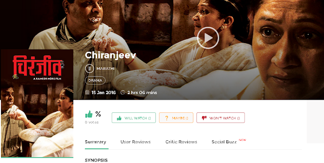Chiranjeev 2016 Marathi Movie Full 700Mb HD