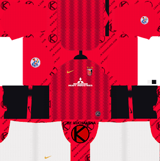 Urawa Red Diamonds kits ACL 2019 - Dream League Soccer Kits
