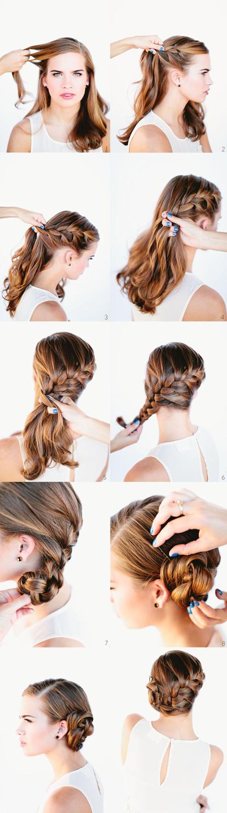 Tutorial Menata Rambut Panjang Dan Pendek Secara Mudah 6