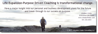 Life Expansion-Purpose Driven Coaching is transformational change. Have a major insight into our personal and business development plans for the future and break through to our success on purpose. www.windsorlindor.com