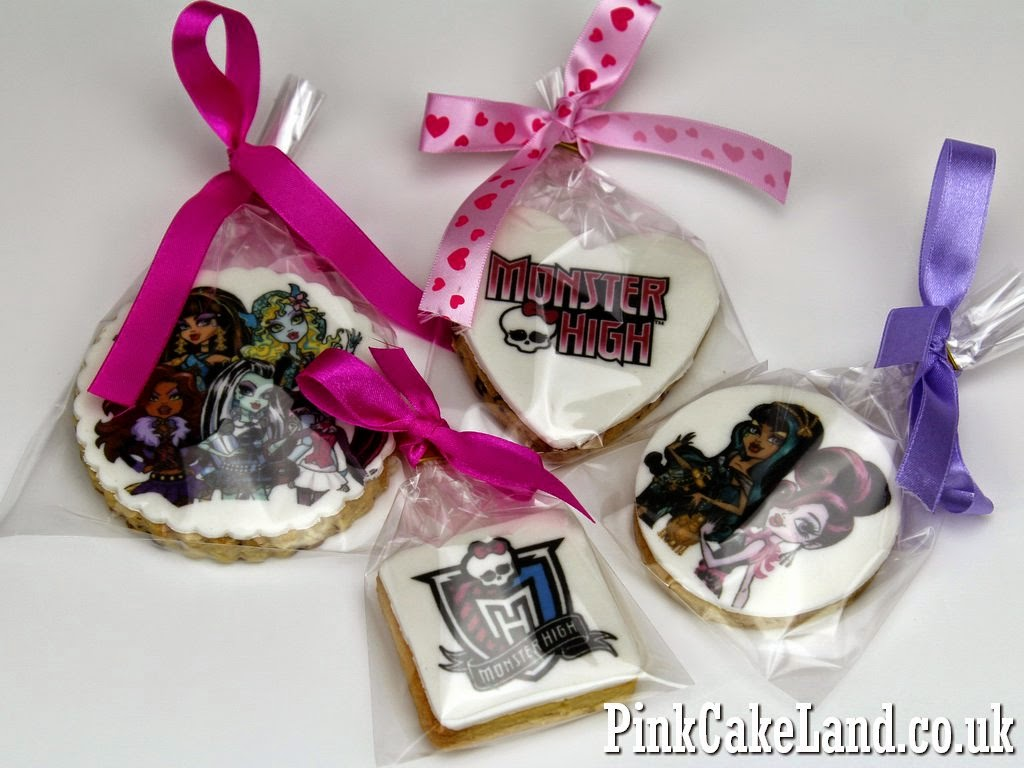 Monster High Logo Cookies