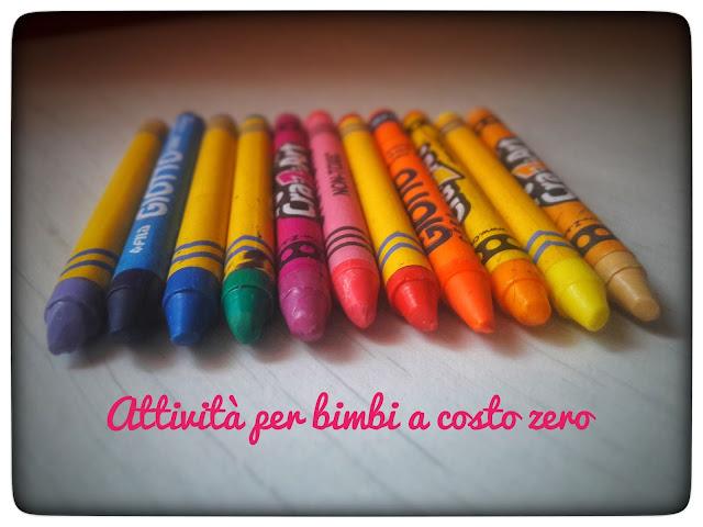 Attività creativa bambini