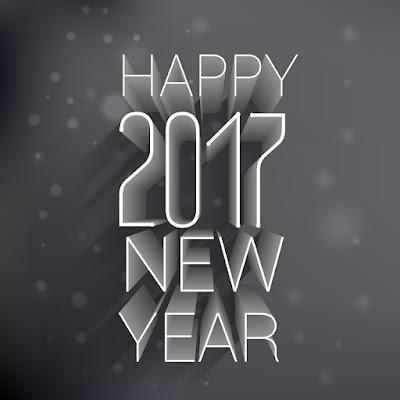 Happy New Year 2017 HD Wallpaper