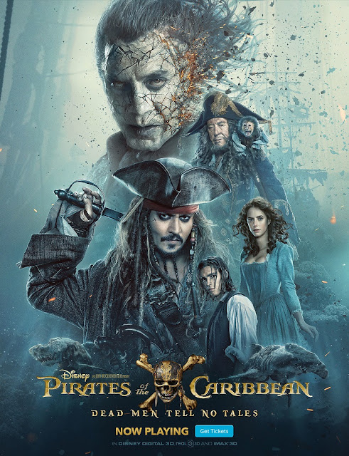 Piratas das Caraíbas, Homens Mortos Não Contam histórias