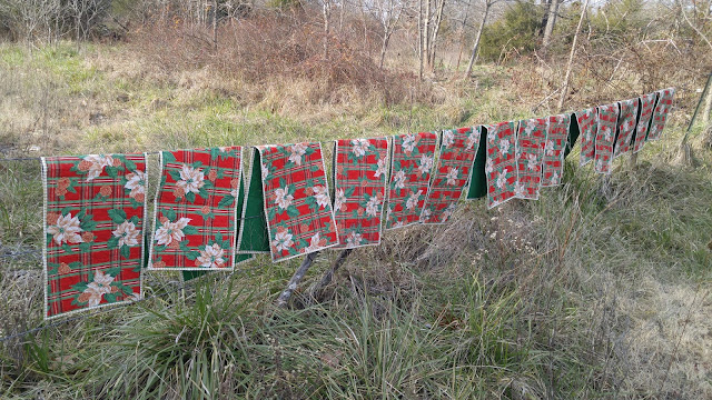Ozark Christmas table runners