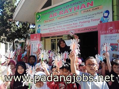 Lowongan Kerja Padang: Yayasan Ar-Rayhan Sejahtera Abadi April 2018