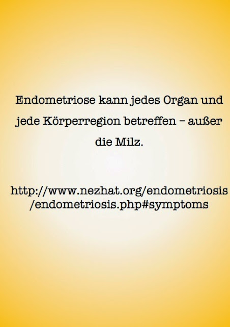 Endometriose und Organe