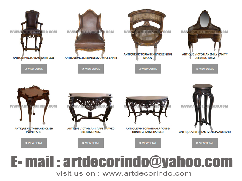 antique victorian chair styles WHOLESALE ANTIQUE VICTORIAN STYLE IN JEPARA ~ Art Decorindo Furniture antique victorian chair styles