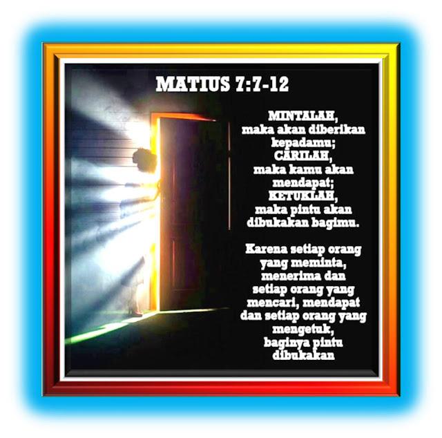 MATIUS 7:7-12