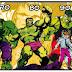Evolucion de algunos de los superheroes. :3 #starfire