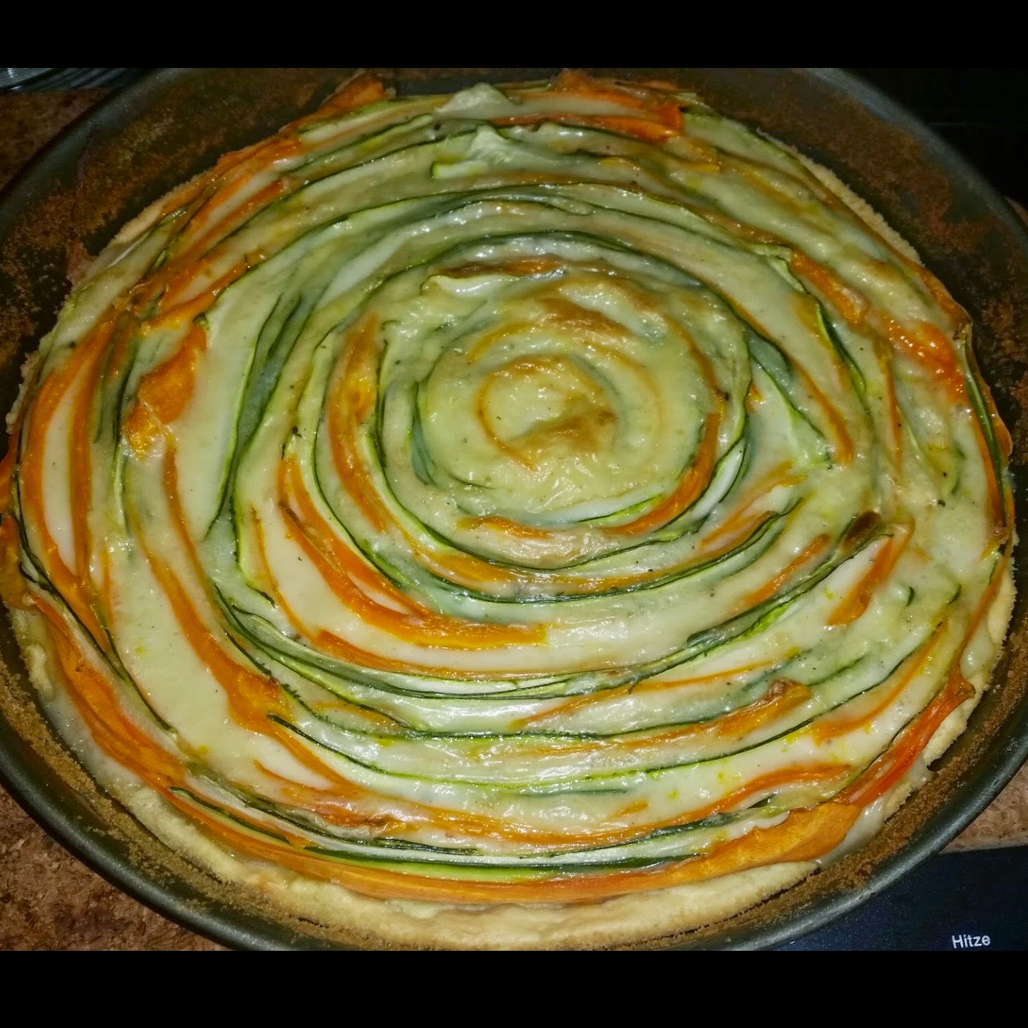 Sandy S Kitchendreams Karotten Zucchini Tarte