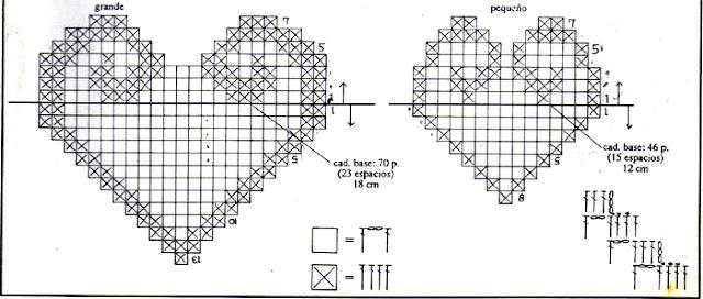 журнал 1000 Mailles № 143 04-1993 сердечки крючком
