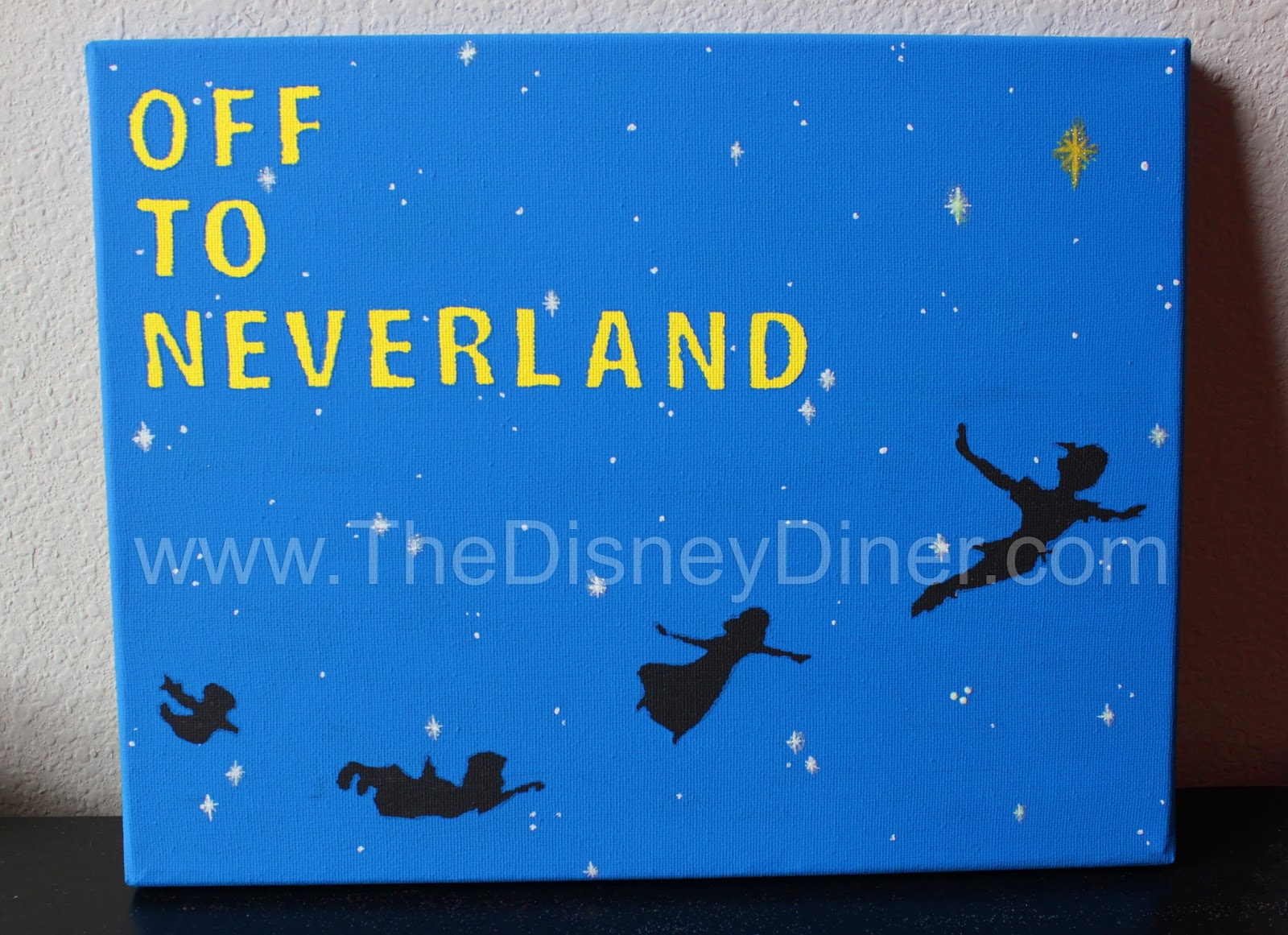 Peter Pan Off To Neverland Artwork Giveaway