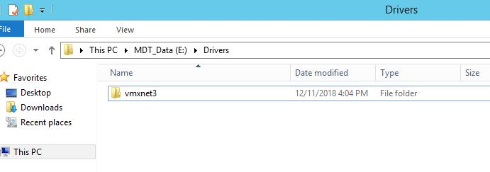 Senju Thomas: How to Add network Drivers to Boot Image – MDT