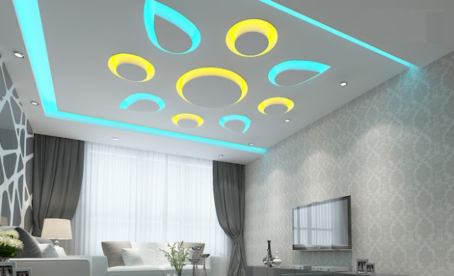 Modern POP Ceiling Designs And Wall Design Ideas