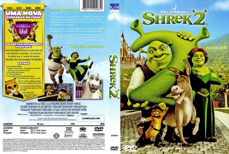 JC VIDEO DESENHO: SHREK 2