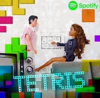 Tetris singlen kansikuva label