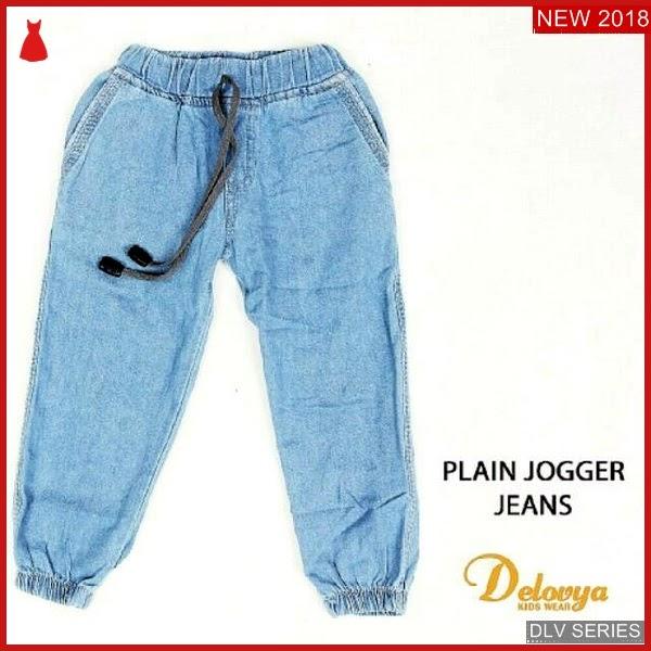 DLV31J42 Jogger Jeans Anak Plain Celana Panjang Balita Murah BMG