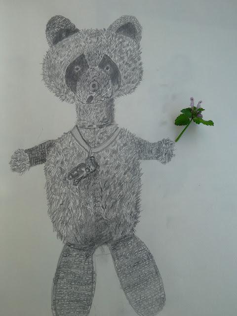 crtež olovkom