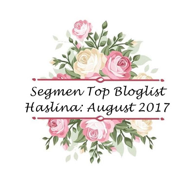 Segmen Top Bloglist Haslina:August 2017